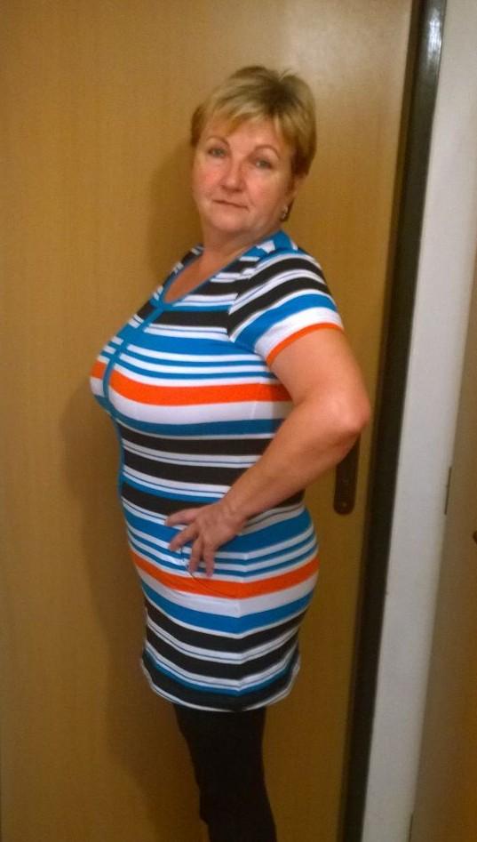 Paní Dagmar po dvou měsících